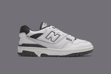 New Balance 550 Greyscale