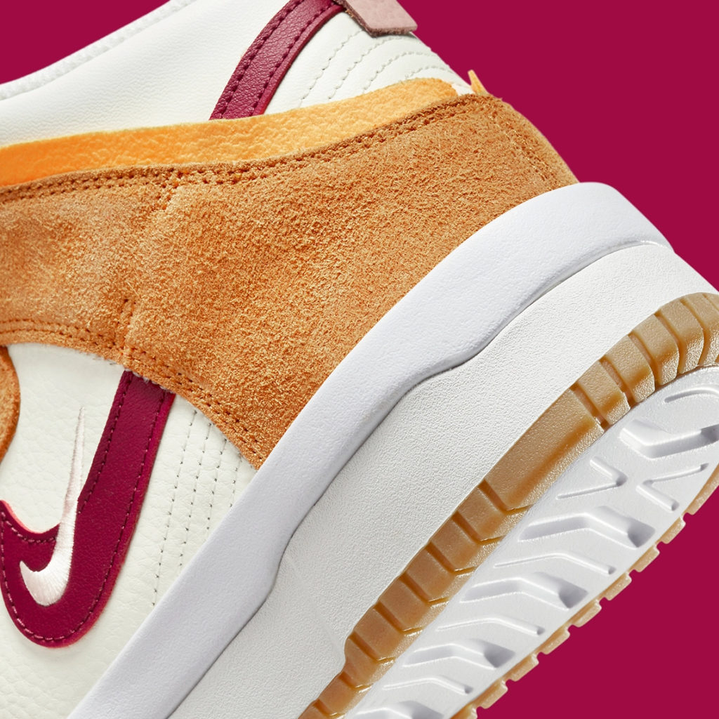 Nike Dunk High Rebel Rush Maroon