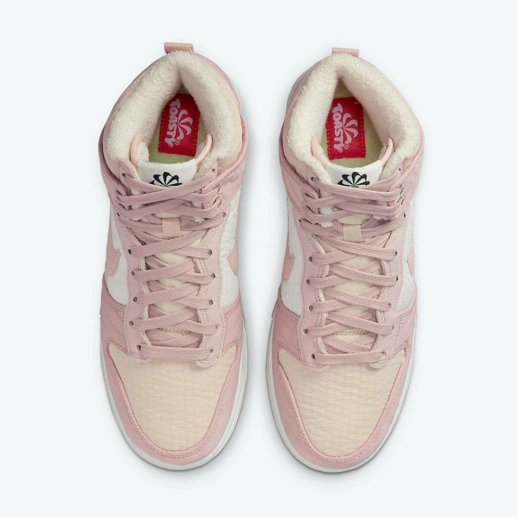 Nike Dunk High Toasty Pink