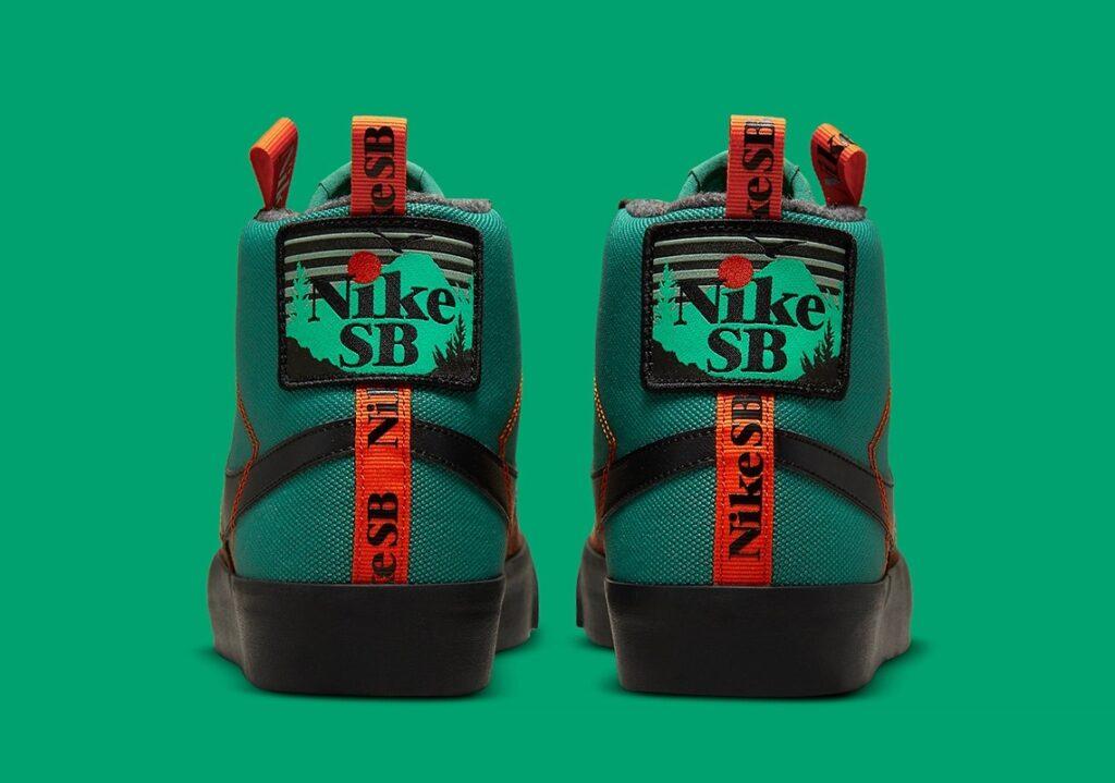Nike SB Blazer Mid Acclimate Noble Green