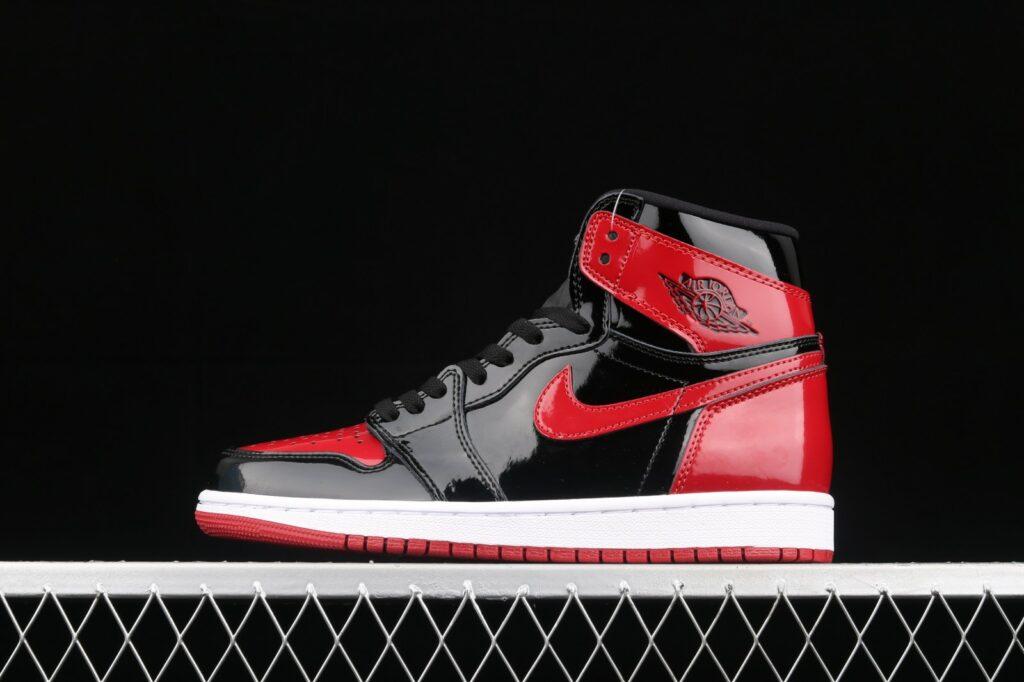 Jordan 1 High Patent Bred