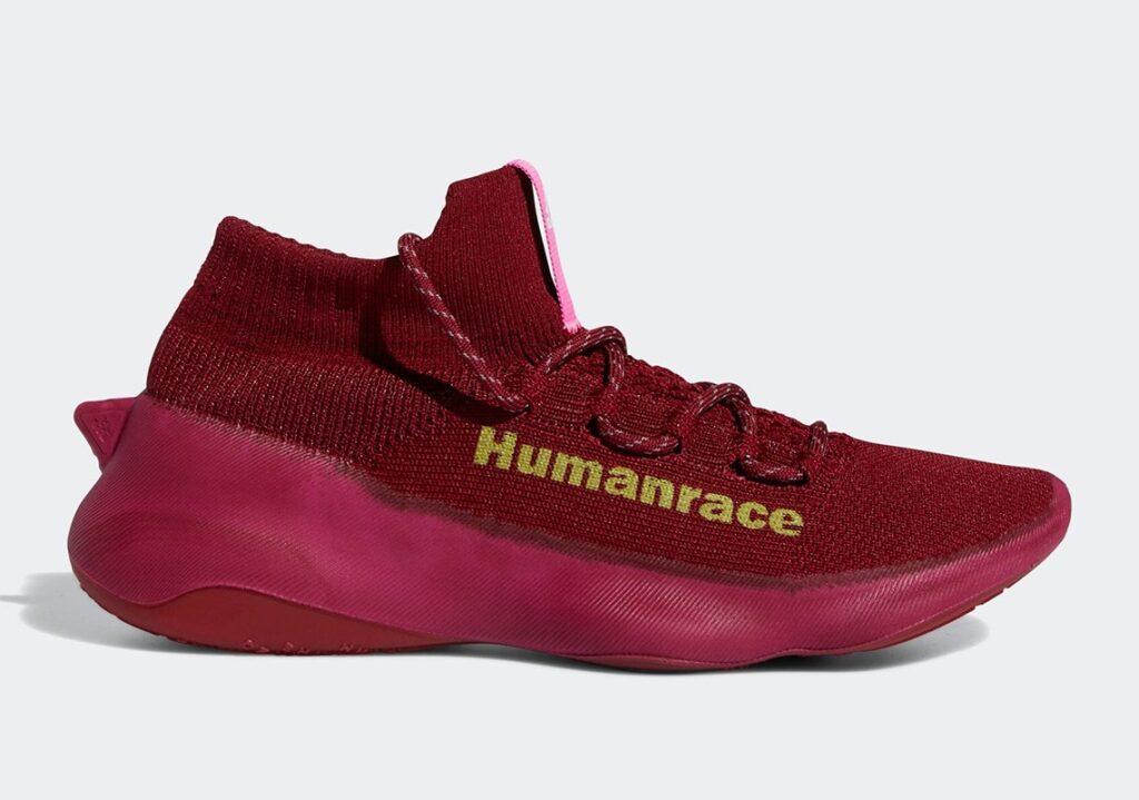 Pharrell x adidas Humanrace Sichona Burgundy
