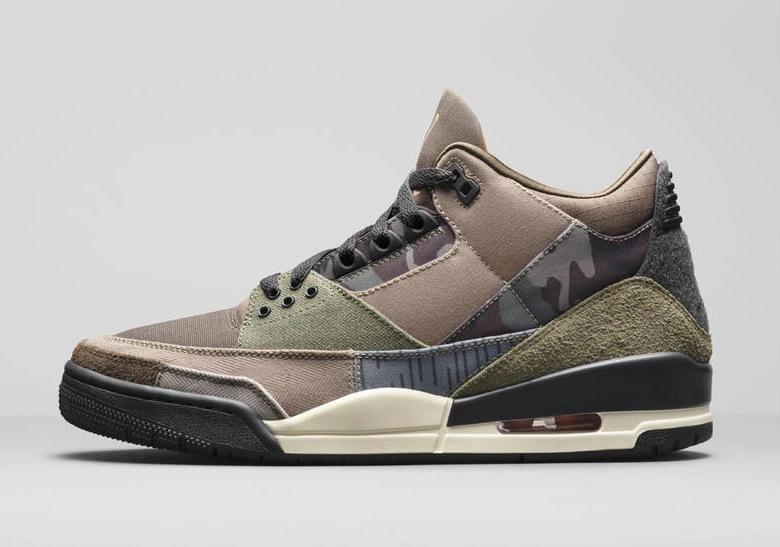 Jordan 3 Camo