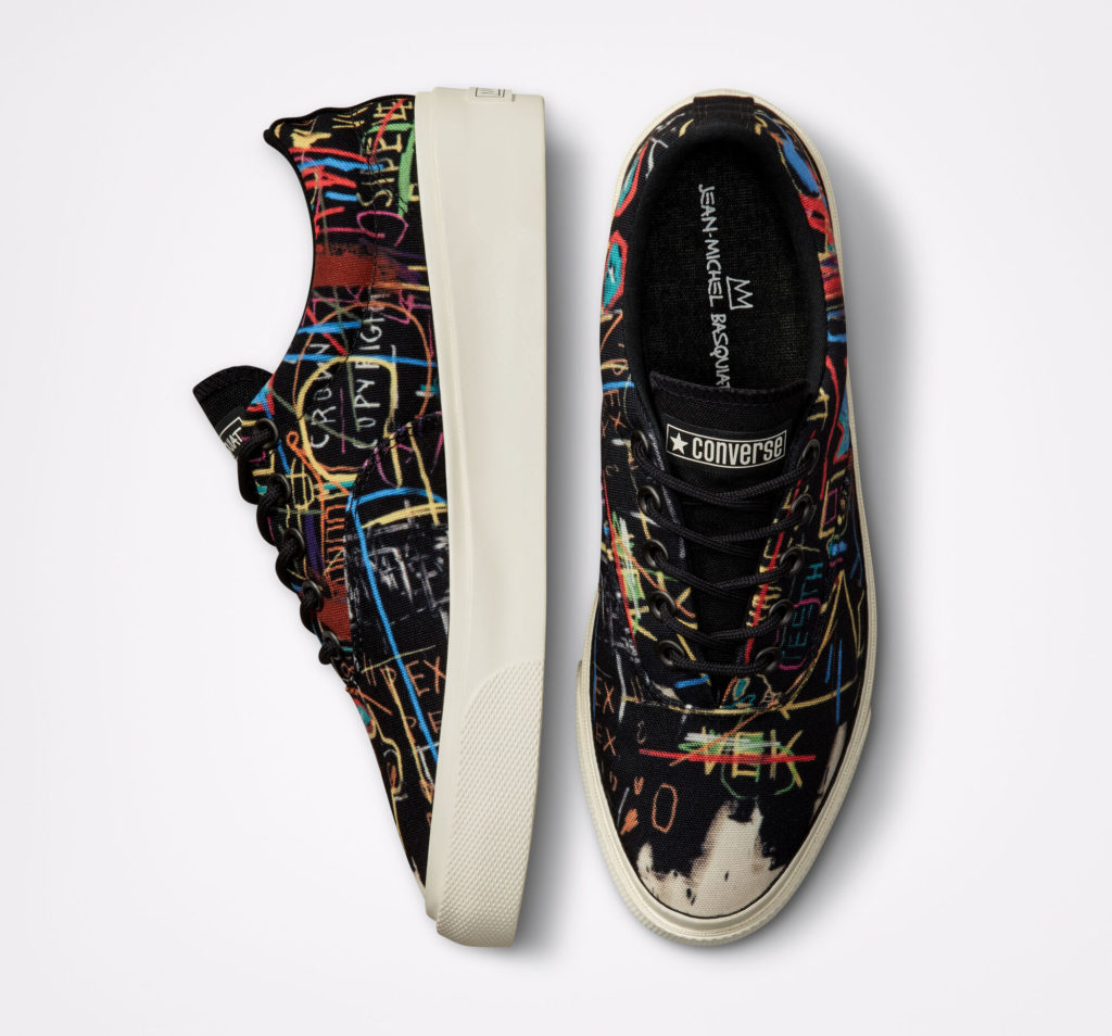 Basquiat x Converse Skidgrip