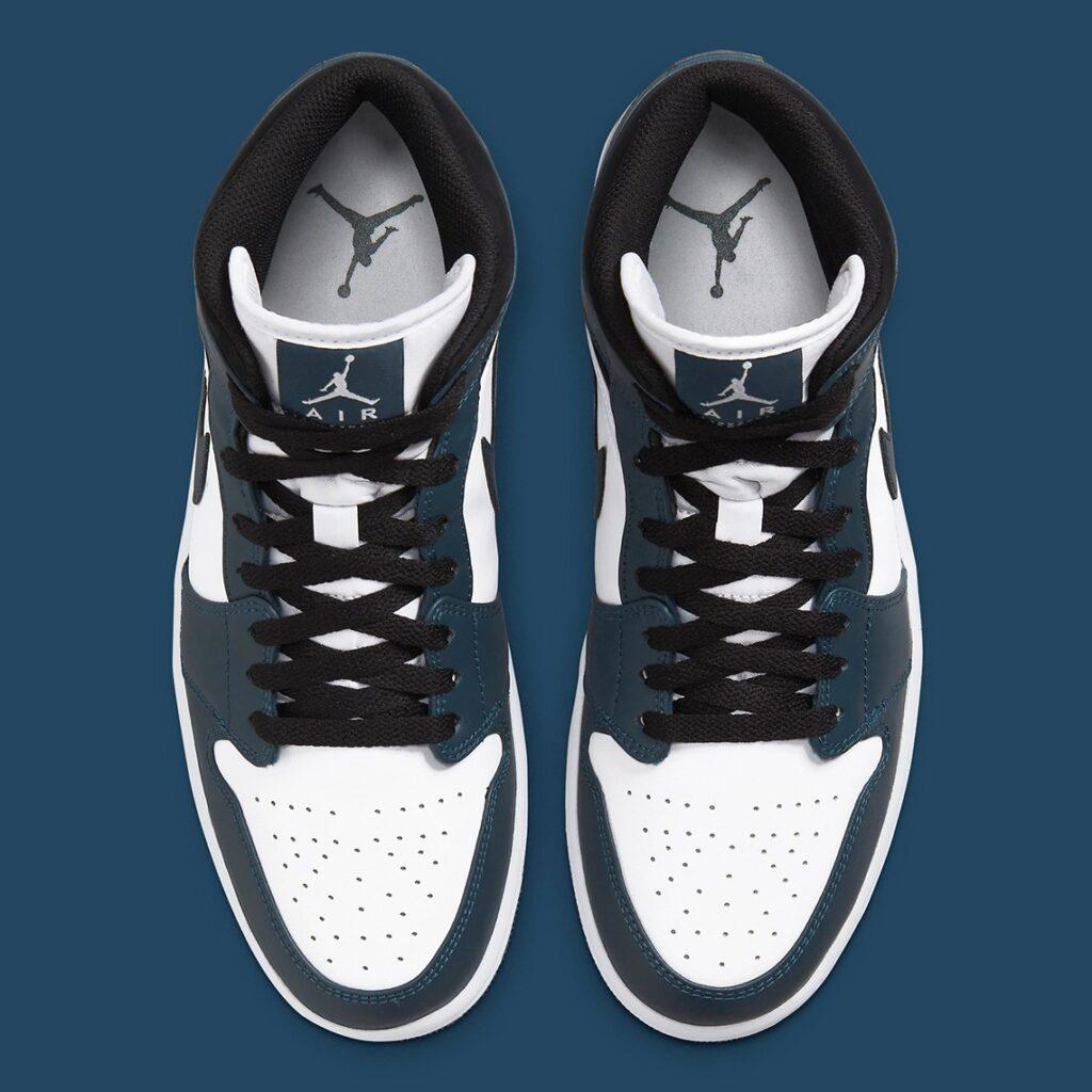 Jordan 1 Mid Dark Teal