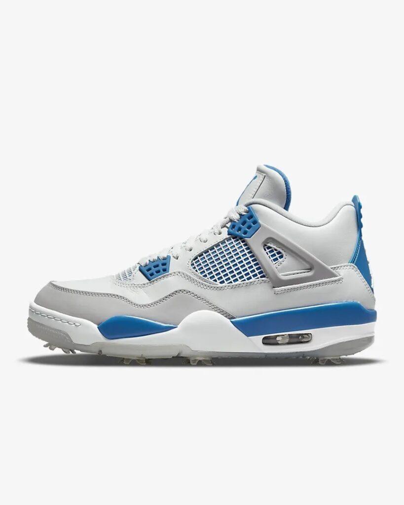 Jordan 4 Golf Military Blue