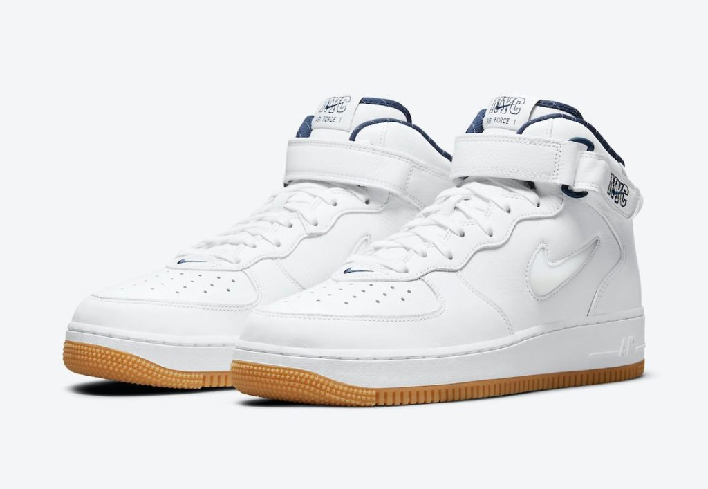 Air Force 1 Mid NYC White