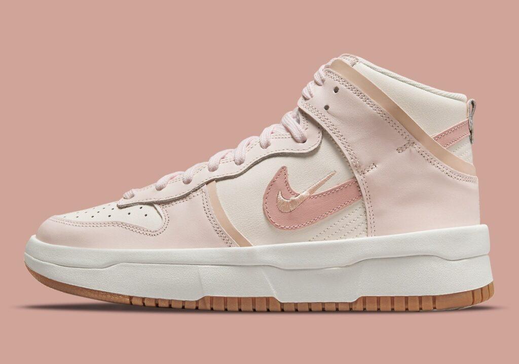 Nike Dunk High Rebel Pink Oxford
