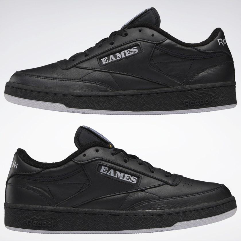 Eames x Reebok Club C Black