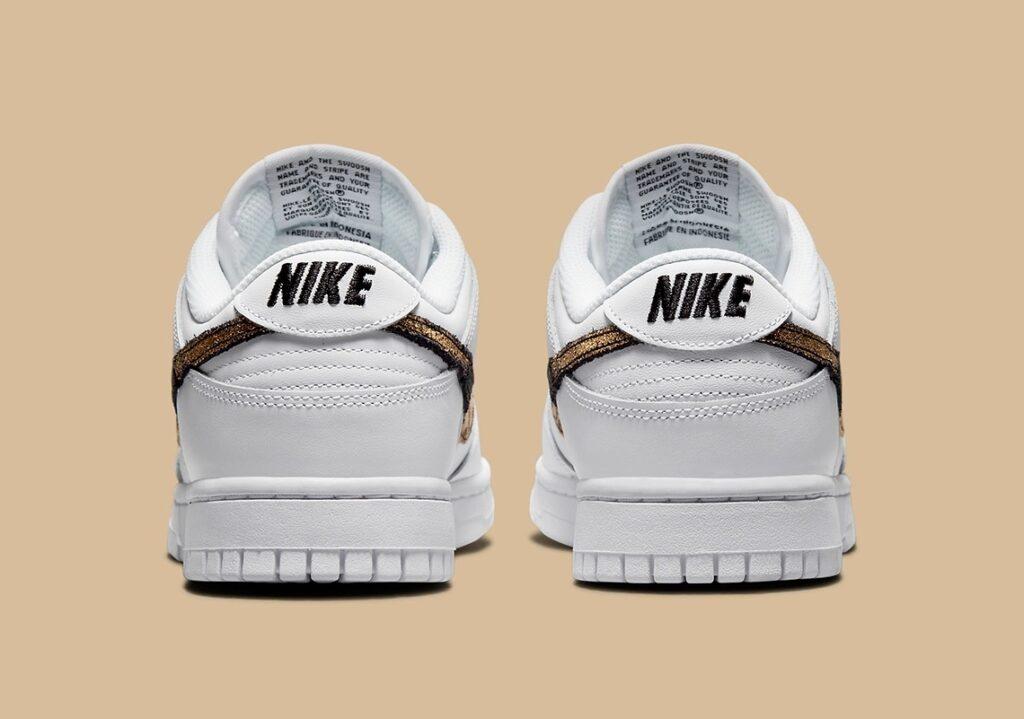 Nike Dunk Low White Animal Swoosh