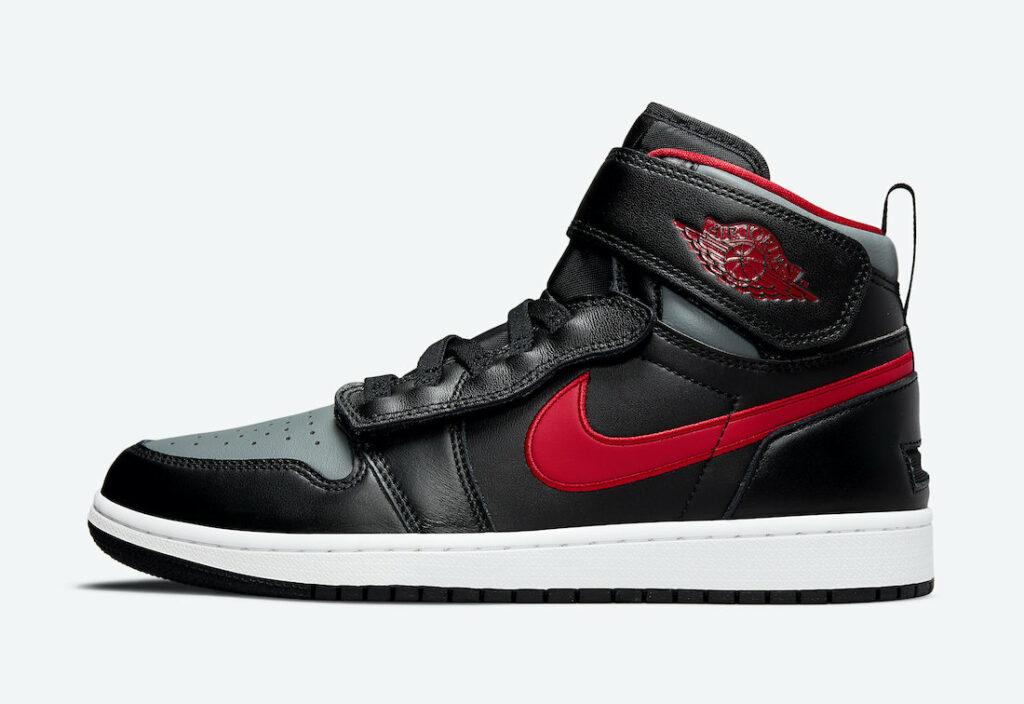 Jordan 1 FlyEase Black Gym Red
