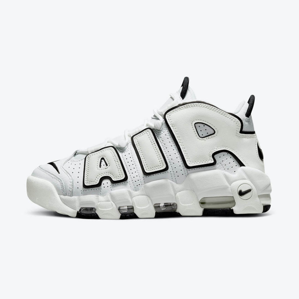 Nike Air More Uptempo Black and White