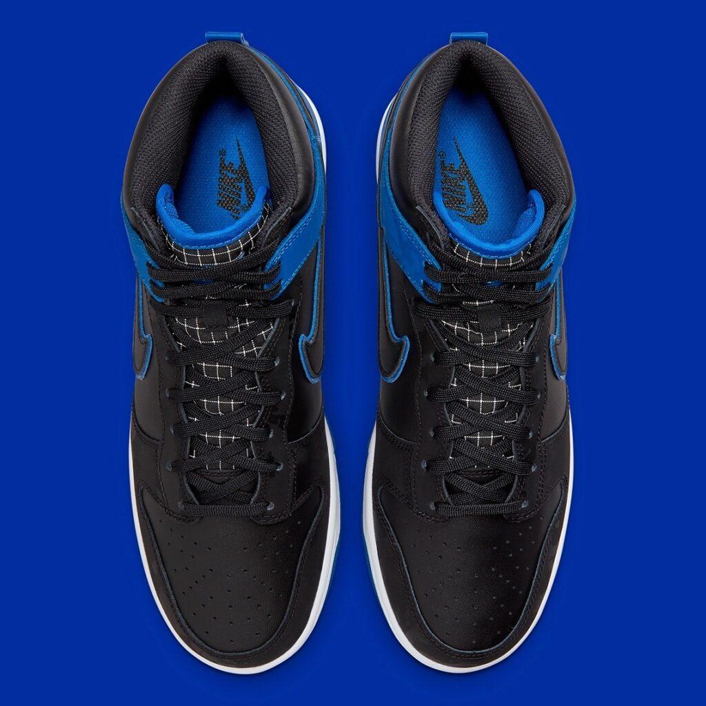 Nike Dunk High Blue Camo