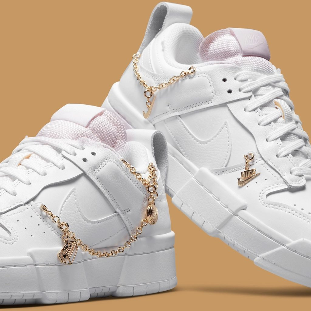 Dunk Disrupt Gold Charms Nike Kette Dunk