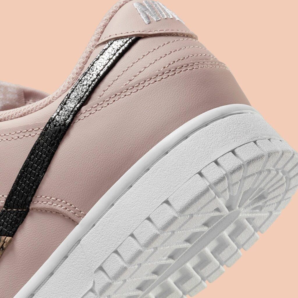 Nike Dunk Low Pink Animal Swoosh